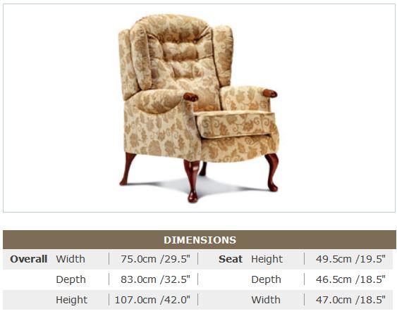 Chelmsford High Seat Chair