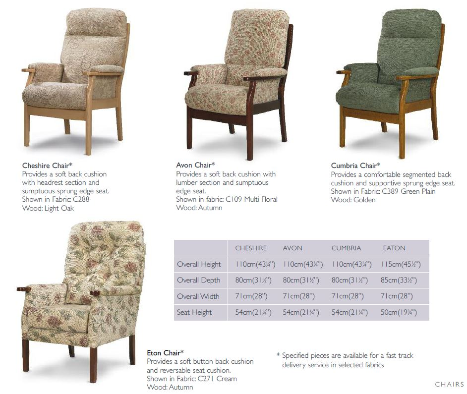 Cintique chair info