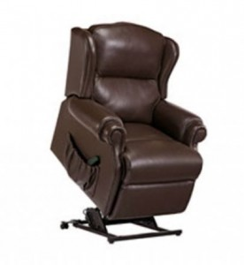 Claremont Leather Recliner Vale