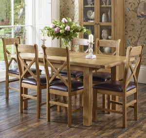 Xandra Dining Table and Chairs