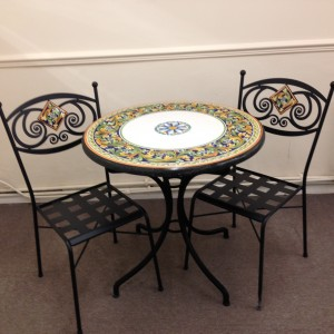 Outdoor table and chair set Leighton Buzzard