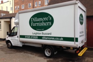 Dillamores Furnishers Free delivery