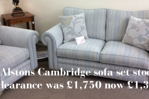 Alstons Cambridge sofa sale