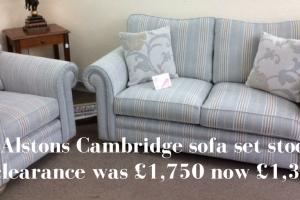 Alstons Cambridge sofa sale